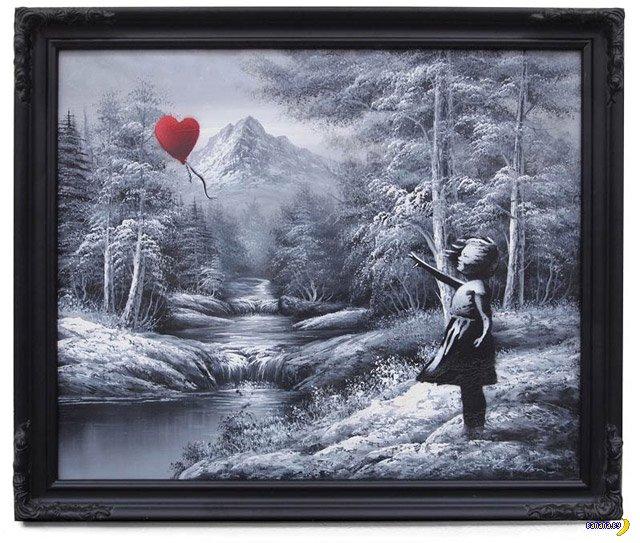 Banksy - новые работы