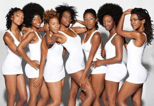 Красивые черные девушки