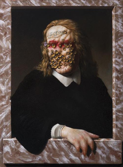Портреты мутантов кисти Кристиана Рекс Ван Миннена