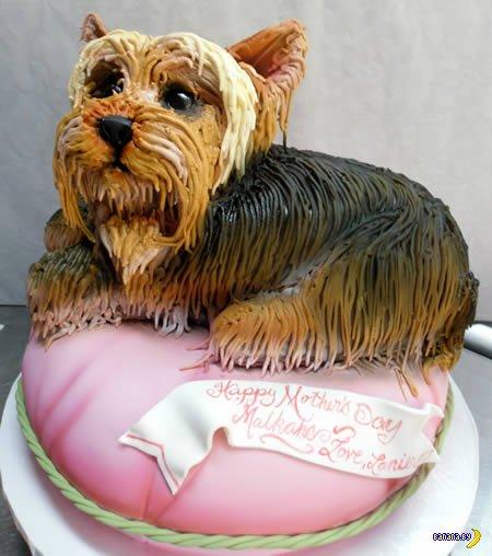12 тортов в виде собак