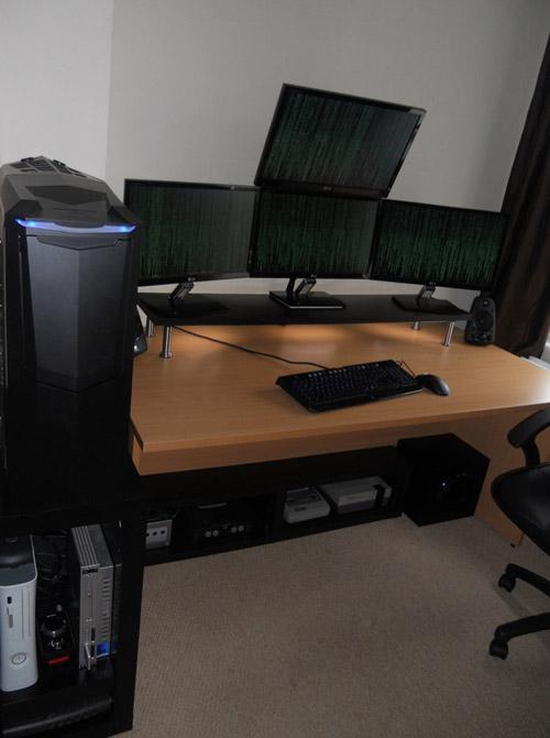Круто обустроенные компьютерные места
