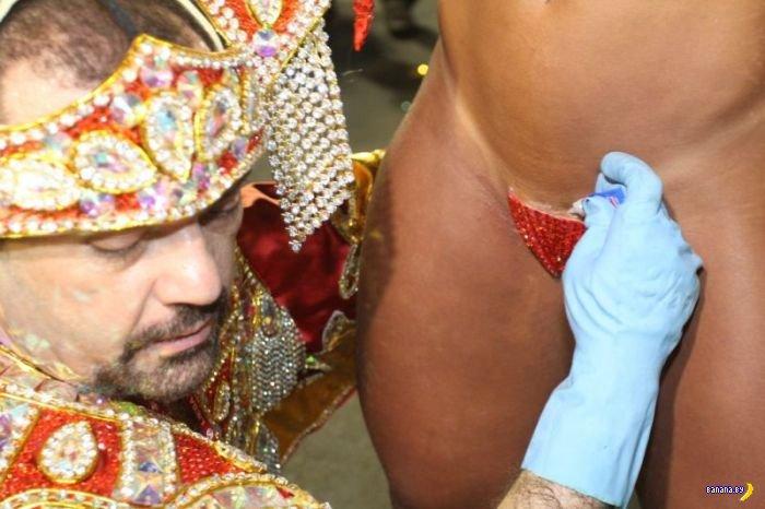 Бразильские карнавальные трусы