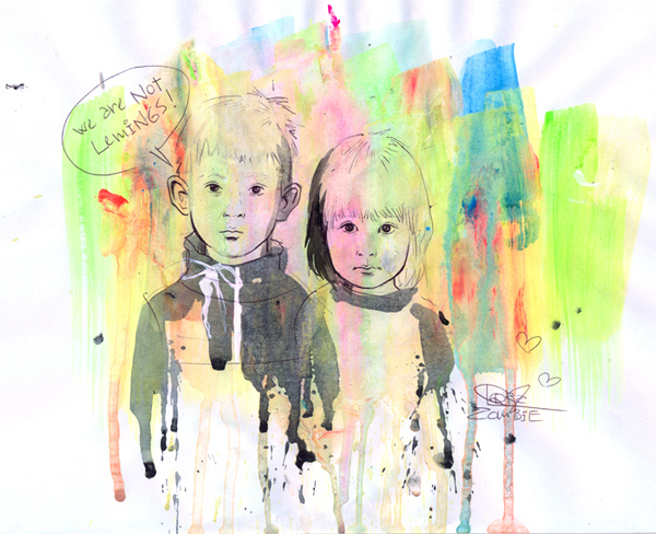Картины Lora Zombie