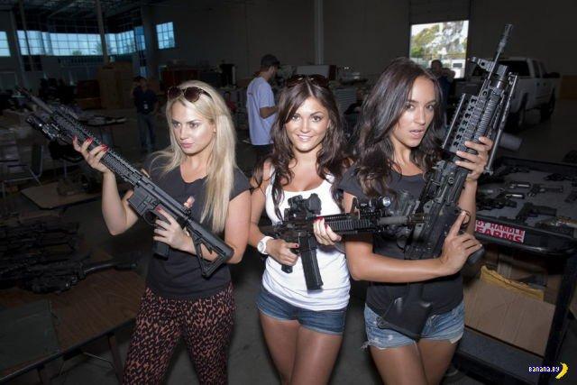 Пин-ап, гламур, пушки!