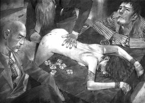 Нездоровые рисунки Хироаки Самуры