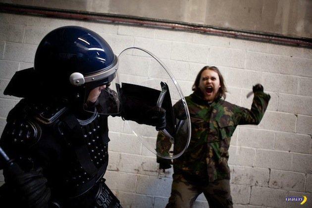 Тренировка массовых беспорядков
