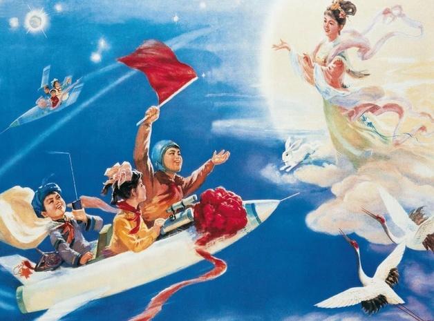 Китайские открытки 50 х годов 19