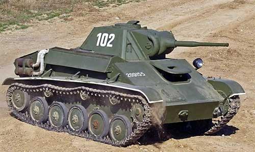 У жителя Гомеля угнали танк
