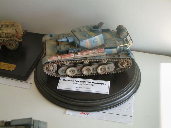 Стендовые модели бронетехники