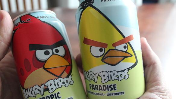 Газировка Angry Birds популярнее Кока-Колы