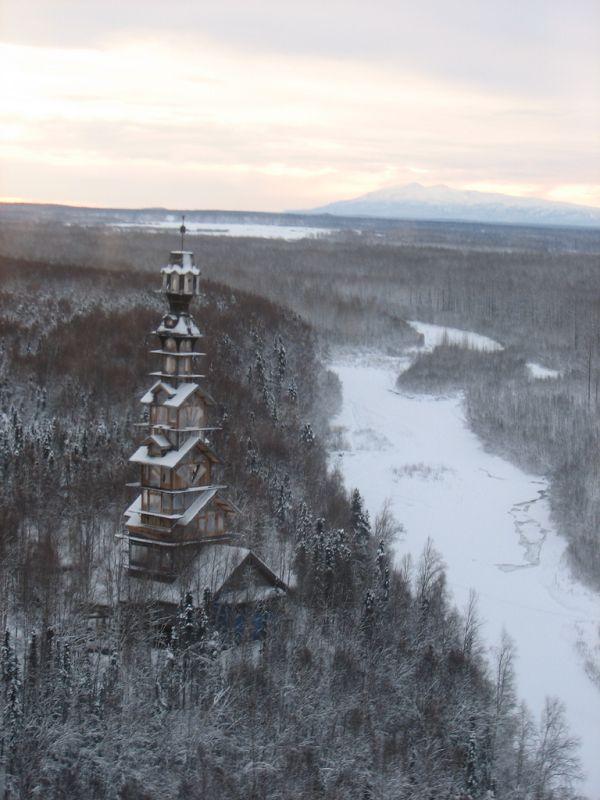 12-этажная избушка на Аляске