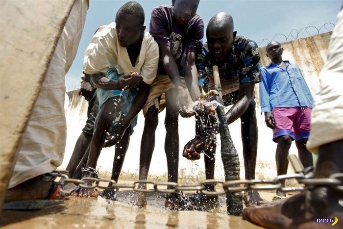 Тюрьма в Южном Судане