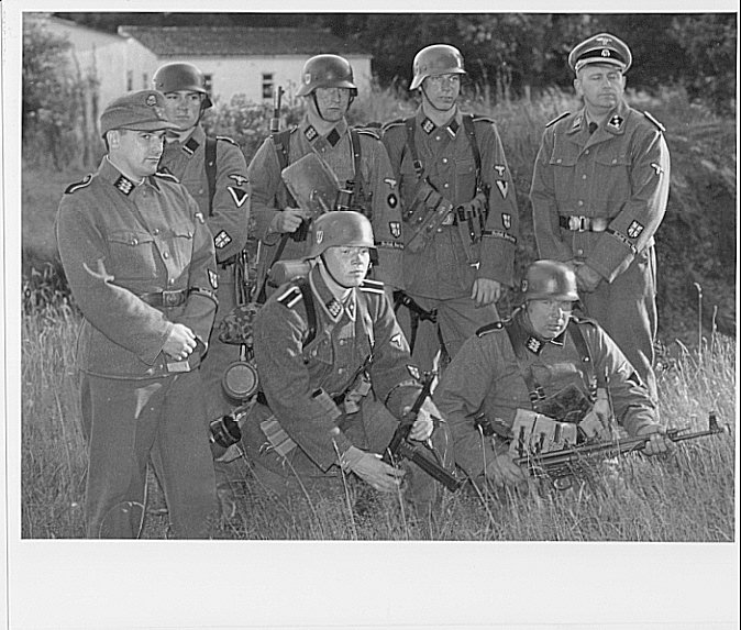 Слышали про британский корпус SS?