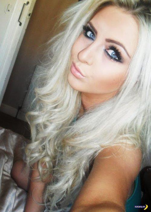 Красивых девушек глаза