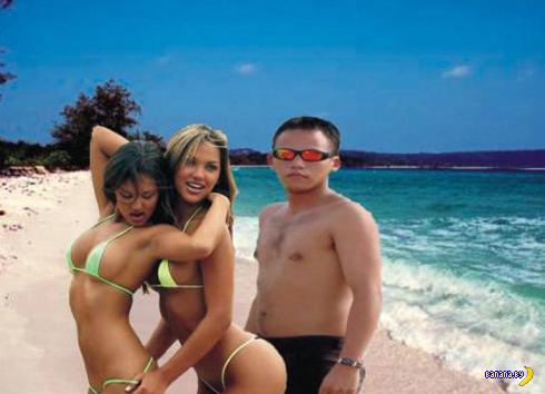 Фото настоящих мачо с ненастоящими девушками