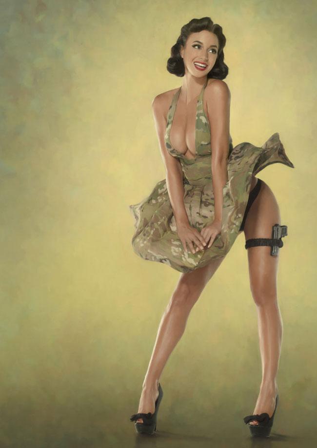 Эротическое фото женщин военнослужащих 25 фотография