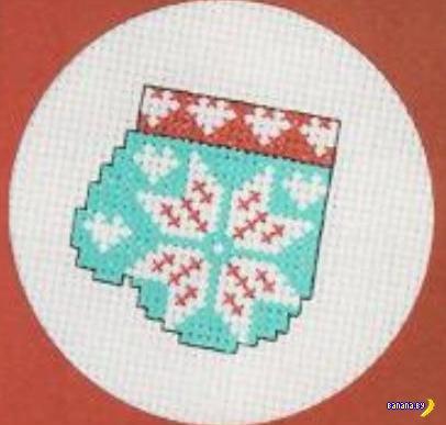 Идеи для подарков - вышивание крестиком