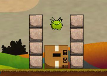 Флеш-игра: Mini Aliens In A Box