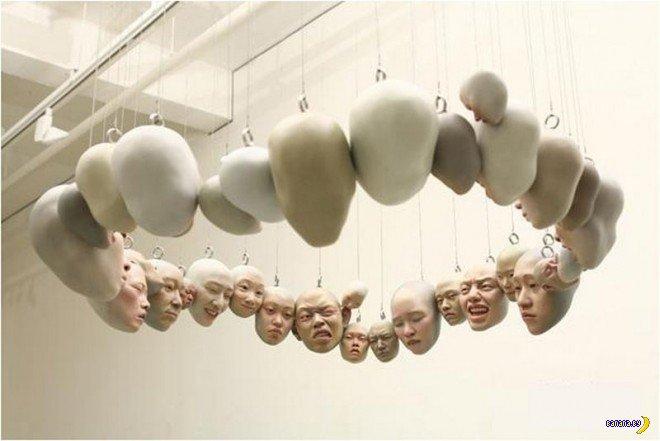 Шокирующие работы Choi Xooang