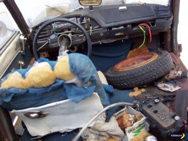 Машинки из мусора