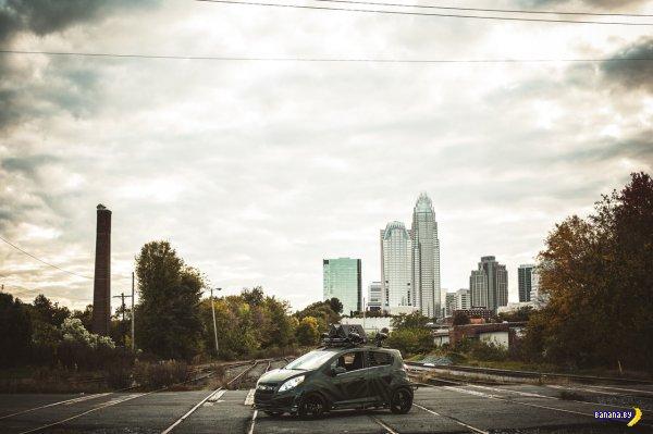 Chevrolet Sonic для зомби-апокалипсиса