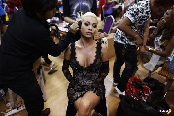 Прошел первый международный конкурс красоты среди трансов