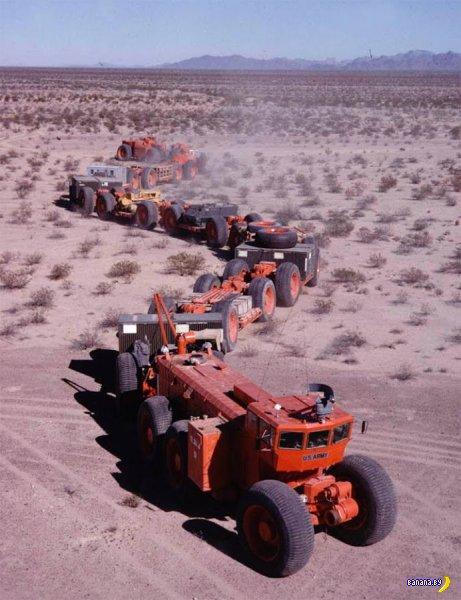 Автопоезд из Аризоны