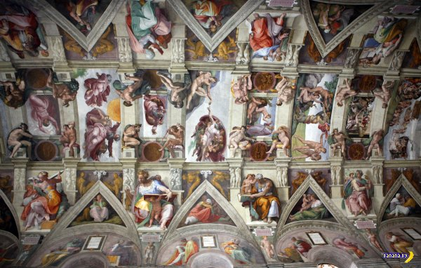 Сикстинской капелле 500 лет