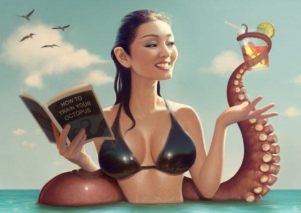 Иллюстрации Сержа Било