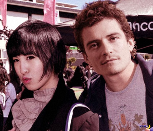 Загадочная китаянка и знаменитости