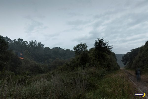 Особняк на горе в Мексике