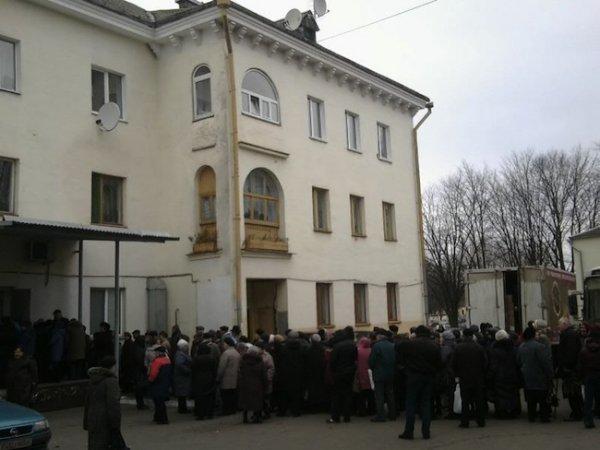В Минске бесплатно раздавали мясо