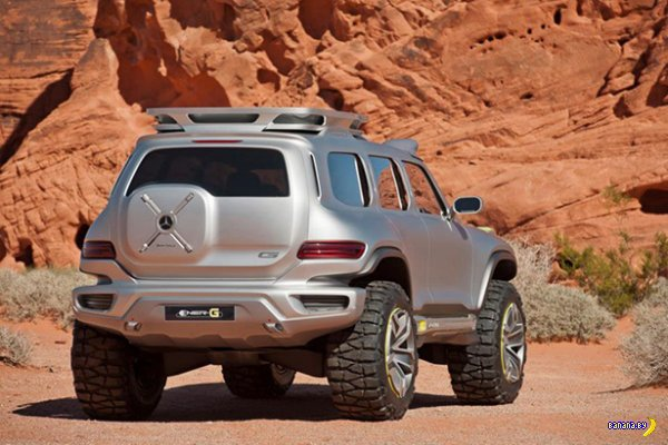 Концепт Mercedes-Benz Ener-G-Force
