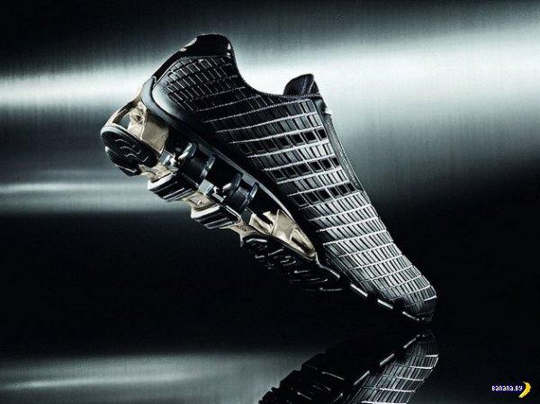 Футуристичные кроссовки Adidas Bounce:S³ by Porsche Design