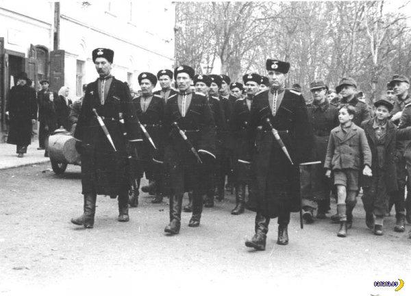Казаки на службе у Гитлера