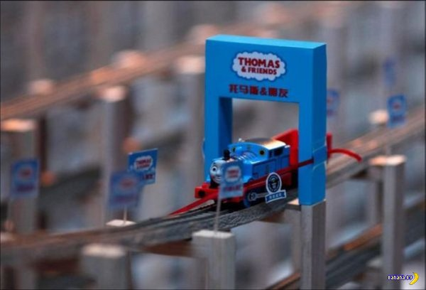 Самая длинная игрушечная железная дорога в мире