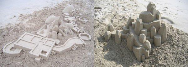 Замки из песка от Calvin Seibert