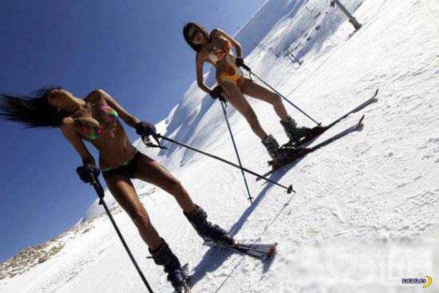 Лыжные девушки
