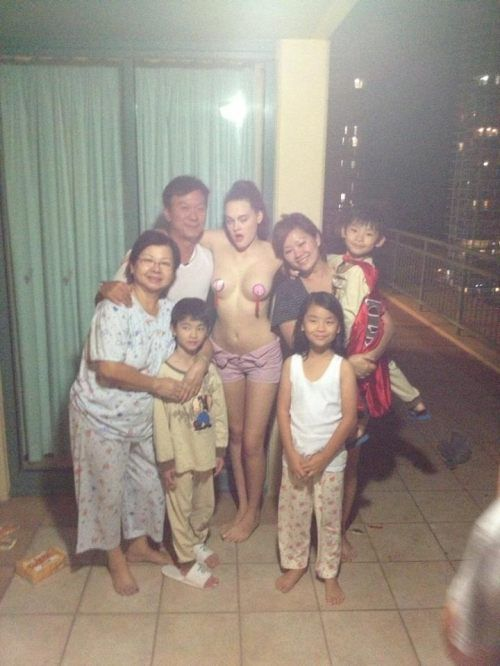 Странное семейное фото