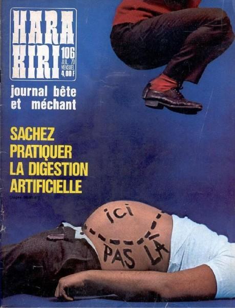 Обложки журнала Hara-Kiri