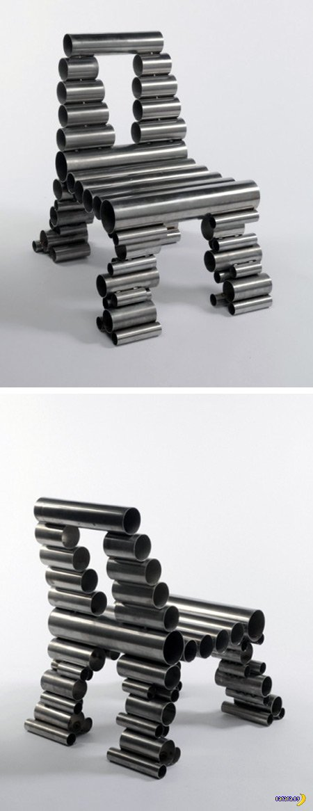 Самые странные стулья в мире