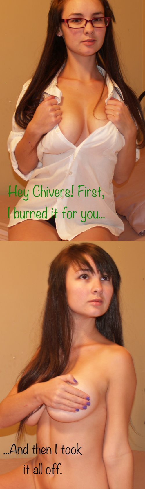 Сожги свой лифчик!