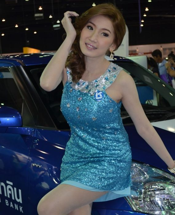 Девушки с Thailand International Motor Expo 2012