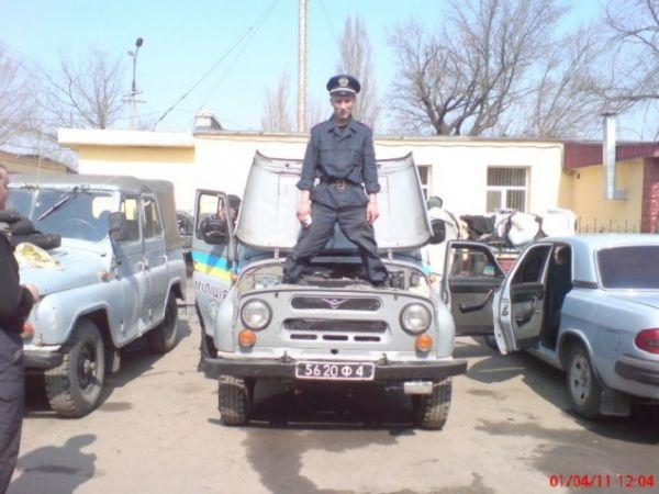 Украинские милицианты