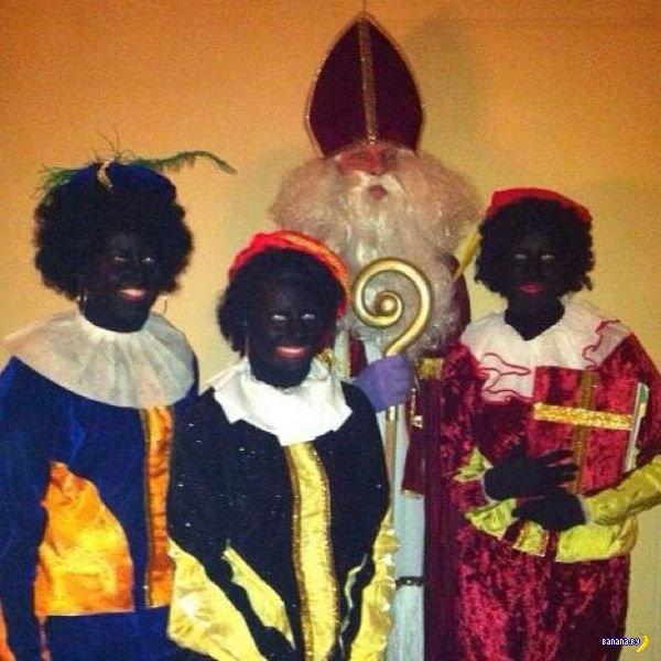 Рождественский оголтелый расизм