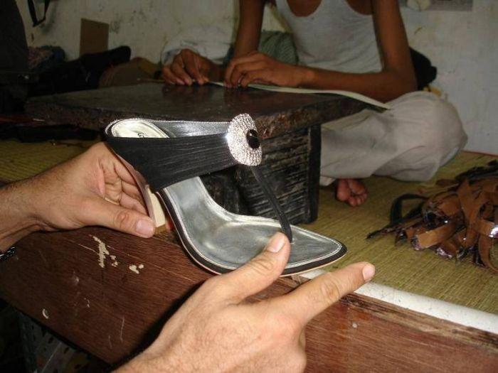 Как делается очень дорогая обувь