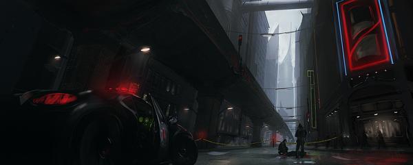 Суровое будущее на рисунках Andree Wallin