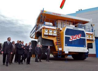 БелАЗ обещает выпустить самый большой в мире самосвал