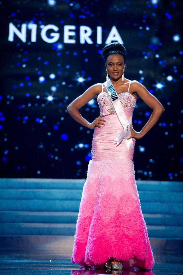 Участницы конкурса Мисс Вселенная 2012