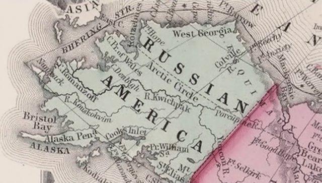 Америка продает Аляску